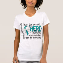 Bravest Hero I Ever Knew Cervical Cancer T-Shirt