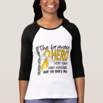 Bravest Hero I Ever Knew Childhood Cancer T-Shirt
