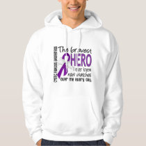 Bravest Hero I Ever Knew Cystic Fibrosis Hoodie