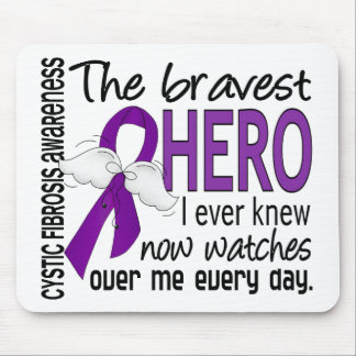 Bravest Hero I Ever Knew Cystic Fibrosis Mouse Pad