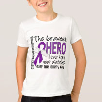 Bravest Hero I Ever Knew Cystic Fibrosis T-Shirt
