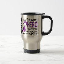 Bravest Hero I Ever Knew Cystic Fibrosis Travel Mug