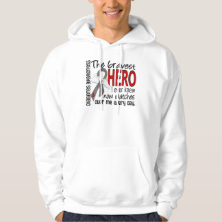 Bravest Hero I Ever Knew Diabetes Pullover