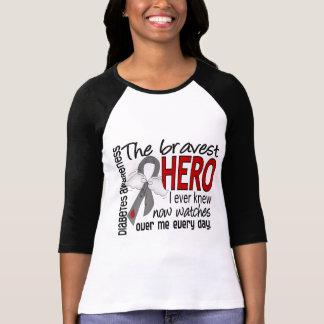 Bravest Hero I Ever Knew Diabetes T-shirt