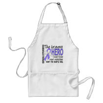 Bravest Hero I Ever Knew Esophageal Cancer Adult Apron