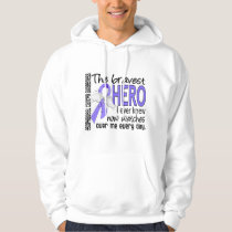 Bravest Hero I Ever Knew Esophageal Cancer Hoodie