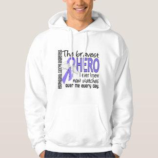 Bravest Hero I Ever Knew Esophageal Cancer Hoodie