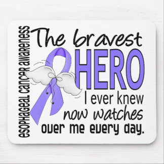 Bravest Hero I Ever Knew Esophageal Cancer Mouse Pad