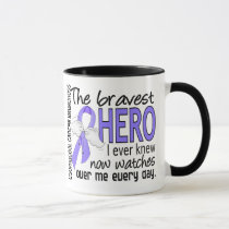 Bravest Hero I Ever Knew Esophageal Cancer Mug