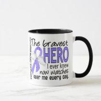Bravest Hero I Ever Knew Esophageal Cancer Mug