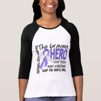 Bravest Hero I Ever Knew Esophageal Cancer T-Shirt