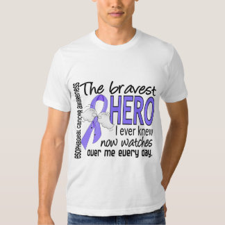 Bravest Hero I Ever Knew Esophageal Cancer T Shirt