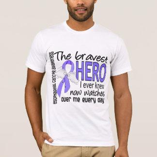 Bravest Hero I Ever Knew Esophageal Cancer T-Shirt