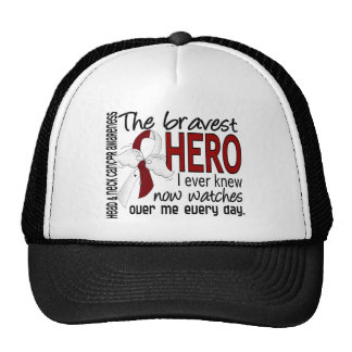 Bravest Hero I Ever Knew Head and Neck Cancer Trucker Hat