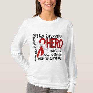 Bravest Hero I Ever Knew Heart Disease T-Shirt