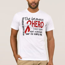 Bravest Hero I Ever Knew Heart Disease T-Shirt