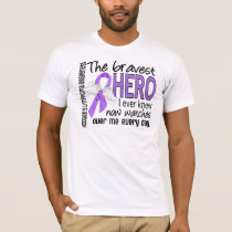 Bravest Hero I Ever Knew Hodgkin's Lymphoma T-Shirt
