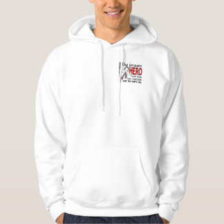 Bravest Hero I Ever Knew Juvenile Diabetes Hooded Sweatshirts