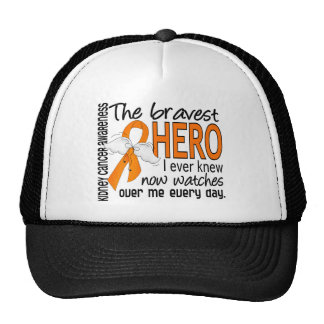 Bravest Hero I Ever Knew Kidney Cancer Trucker Hat