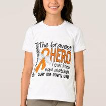Bravest Hero I Ever Knew Kidney Cancer T-Shirt