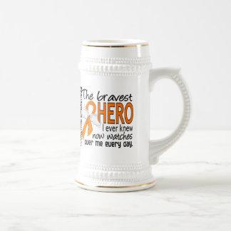 Bravest Hero I Ever Knew Leukemia Mugs
