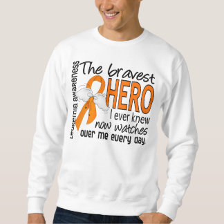 Bravest Hero I Ever Knew Leukemia Sweatshirt