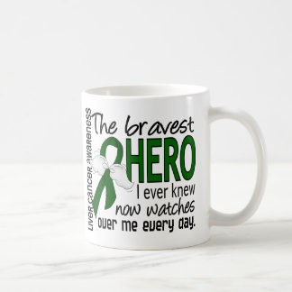 Bravest Hero I Ever Knew Liver Cancer Coffee Mug