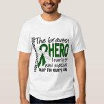 Bravest Hero I Ever Knew Liver Cancer T Shirt