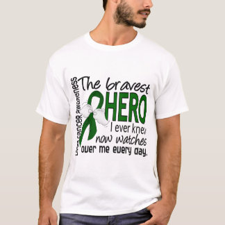 Bravest Hero I Ever Knew Liver Cancer T-Shirt