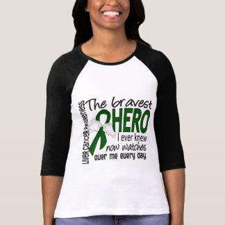 Bravest Hero I Ever Knew Liver Cancer T-Shirt
