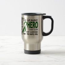Bravest Hero I Ever Knew Liver Cancer Travel Mug