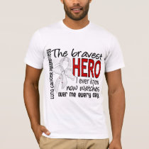 Bravest Hero I Ever Knew Lung Cancer T-Shirt