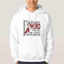Bravest Hero I Ever Knew Multiple Myeloma Hoodie