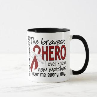 Bravest Hero I Ever Knew Multiple Myeloma Mug