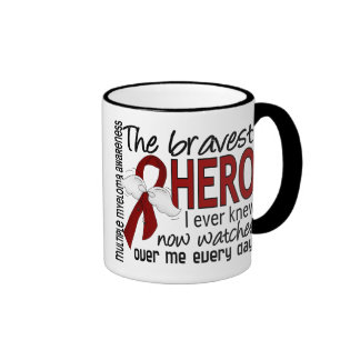 Bravest Hero I Ever Knew Multiple Myeloma Mugs