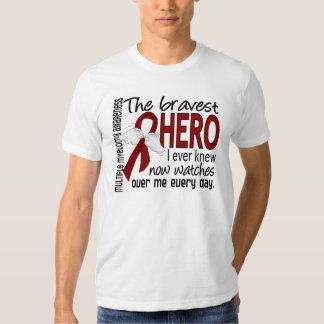 Bravest Hero I Ever Knew Multiple Myeloma Tshirts