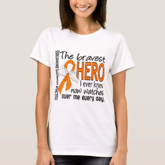 Bravest Hero I Ever Knew Multiple Sclerosis T-Shirt