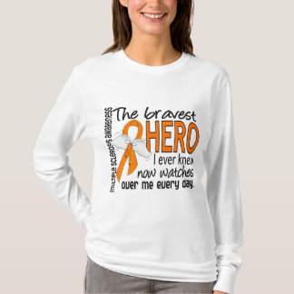 Bravest Hero I Ever Knew Multiple Sclerosis T-Shirt