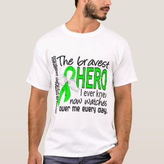 Bravest Hero I Ever Knew Muscular Dystrophy T-Shirt