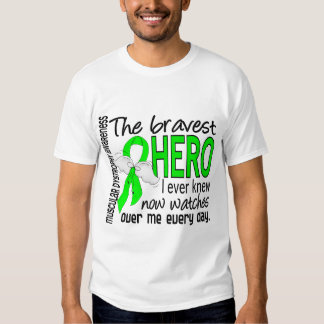Bravest Hero I Ever Knew Muscular Dystrophy Tee Shirt
