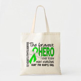 Bravest Hero I Ever Knew Non-Hodgkin's Lymphoma Tote Bag