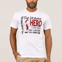 Bravest Hero I Ever Knew Oral Cancer T-Shirt