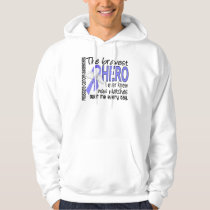 Bravest Hero I Ever Knew Prostate Cancer Hoodie