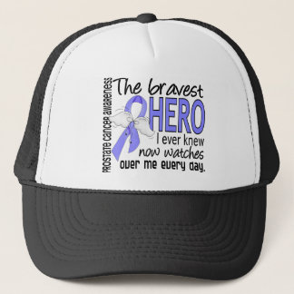 Bravest Hero I Ever Knew Prostate Cancer Trucker Hat