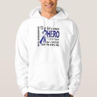 Bravest Hero I Ever Knew Rectal Cancer Hoodie