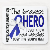 Bravest Hero I Ever Knew Rectal Cancer Mouse Pad