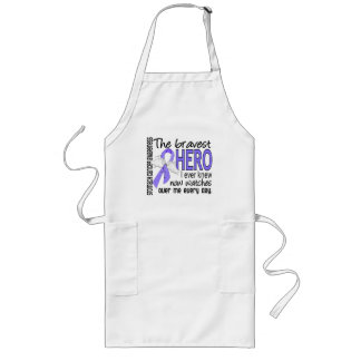 Bravest Hero I Ever Knew Stomach Cancer Long Apron