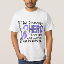 Bravest Hero I Ever Knew Stomach Cancer T-Shirt