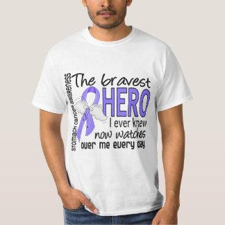Bravest Hero I Ever Knew Stomach Cancer T-Shirt