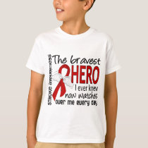 Bravest Hero I Ever Knew Stroke T-Shirt